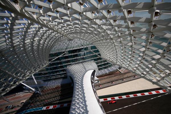 Yas Marina Circuit, Abu Dhabi, United Arab Emirates. Friday 24 November 2017. Kimi Raikkonen, Ferrari SF70H. World Copyright: Andrew Hone/LAT Images  ref: Digital Image _ONY0222