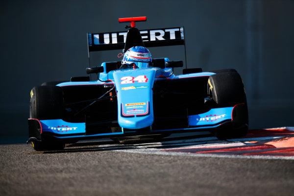 2017 GP3 Series Test 5. Yas Marina Circuit, Abu Dhabi, United Arab Emirates. Thursday 30 November 2017. Job van Uitert (NLD, Jenzer Motorsport).  Photo: Joe Portlock/GP3 Series Media Service. ref: Digital Image _L5R2369