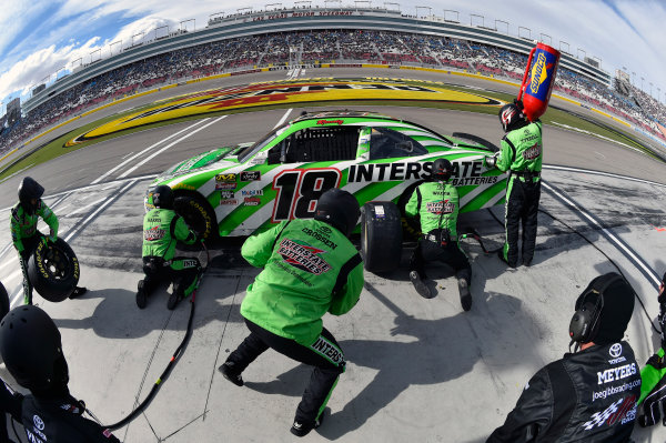 NASCAR Xfinity Series Boyd Gaming 300 Las Vegas Motor Speedway, Las Vegas, NV USA Saturday 3 March 2018 Kyle Busch, Joe Gibbs Racing, Toyota Camry Interstate Batteries World Copyright: Nigel Kinrade NKP / LAT Images