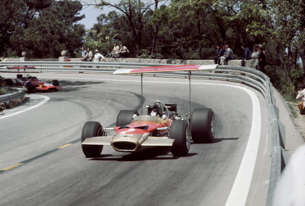 Montjuich Park, Spain. 4 May 1969.
