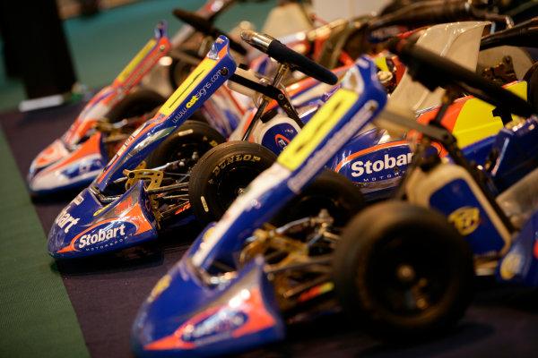NEC, Birmingham. 13th January 2011.Stobart Motorsport Go KartsWorld Copyright: Drew Gibson/LAT Photographicref: Digital Image _Y2Z0245
