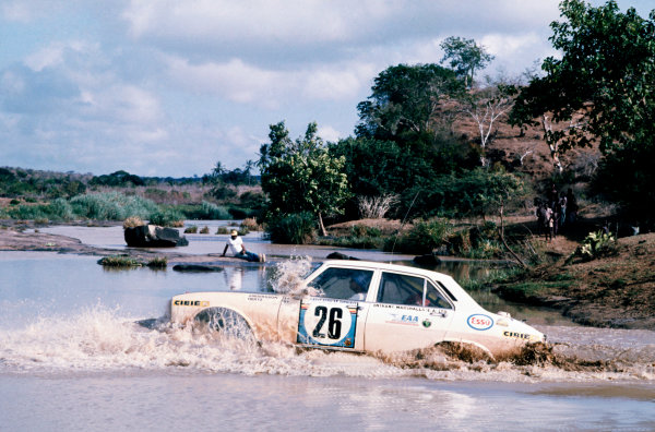 Safari Rally, Nairobi, Kenya.  27th - 31st March 1975.