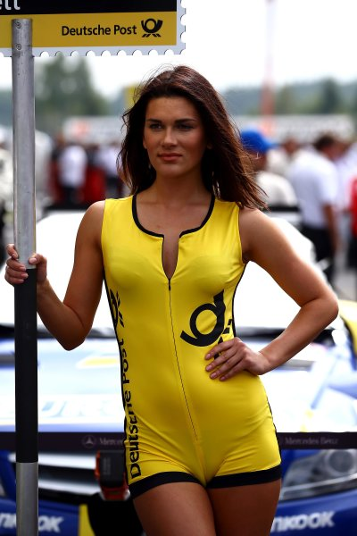 Round 6 - Moscow Raceway, Moscow, Russia  3rd - 4th August 2013  Gridgirl of Gary Paffett (GBR) Mercedes AMG DTM-Team HWA DTM Mercedes AMG C-Coupé World Copyright: XPB Images / LAT Photographic  ref: Digital Image 2774626_HiRes
