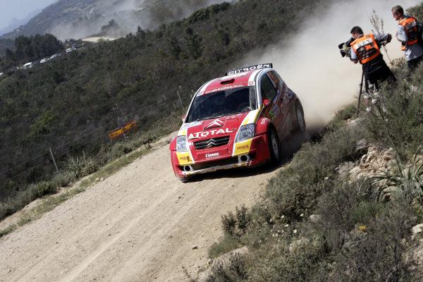 2005 World Rally Championship Rallye d'Italia, Sardinia, Italy. 29th April - 1st May 2005Kris Meeke (Citroen C2), action.World Copyright: McKlein/LAT Photographic ref: Digital Image Only