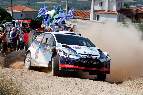 Round 07 Acropolis Rally. 16th - 19th June 2011.Lambros Athanassoulas, Ford WRC, Action.Worldwide Copyright: McKlein/LAT