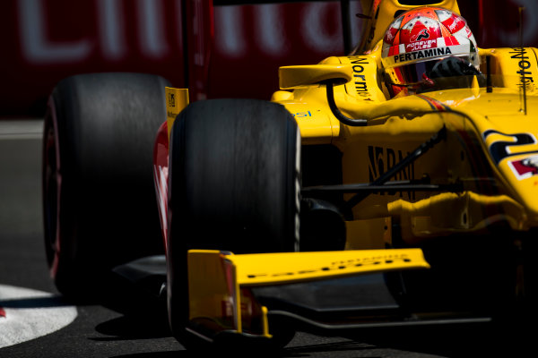 2017 FIA Formula 2 Round 4. Baku City Circuit, Baku, Azerbaijan. Friday 23 June 2017. Norman Nato (FRA, Pertamina Arden)  Photo: Zak Mauger/FIA Formula 2. ref: Digital Image _54I9947