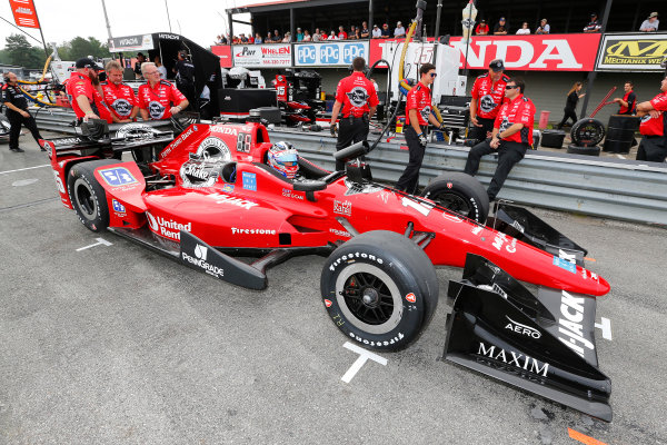 Verizon IndyCar Series Honda Indy 200 at Mid-Ohio Mid-Ohio Sports Car Course, Lexington, OH USA Friday 28 July 2017 Graham Rahal, Rahal Letterman Lanigan Racing Honda World Copyright: Phillip Abbott LAT Images ref: Digital Image abbott_midohio_0717_0084