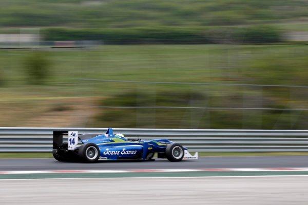 2014 European F3 Testing. Hungaroring, Budapest, Hungary. Saturday 05 April 2014. Felipe Guimaraes (BRA) Double R Racing Dallara F312 – Mercedes. World Copyright: XPB Images / LAT Photographic. ref: Digital Image 3042116_HiRes