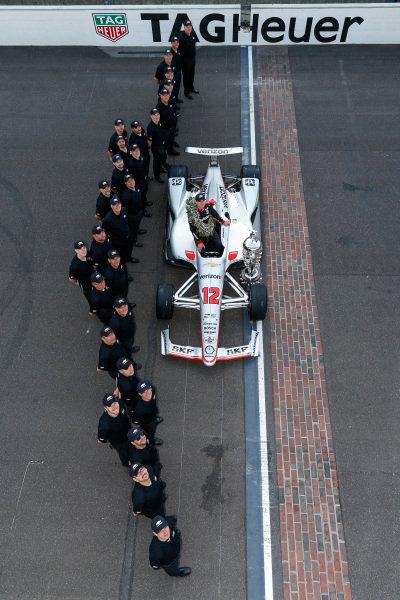 Winner, Will Power, Team Penske Chevrolet, and Team Chevy