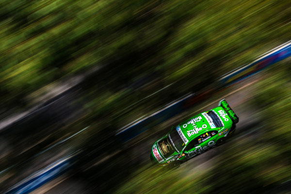 2016 Supercars Championship Round 14.  Sydney 500, Homebush Street Circuit, New South Wales, Australia. Friday 2nd December to Sunday 4th December 2016. Mark Winterbottom drives the #1 The Bottle-O Racing Ford Falcon FGX. World Copyright: Daniel Kalisz/LAT Photographic Ref: Digital Image 021216_VASCR14_DKIMG_0933.JPG