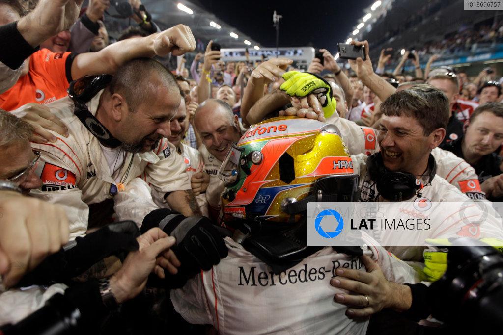 2011 Abu Dhabi Grand Prix - Sunday