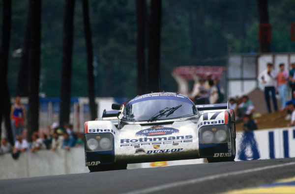 Le Mans, France. 11th - 12th June 1987.