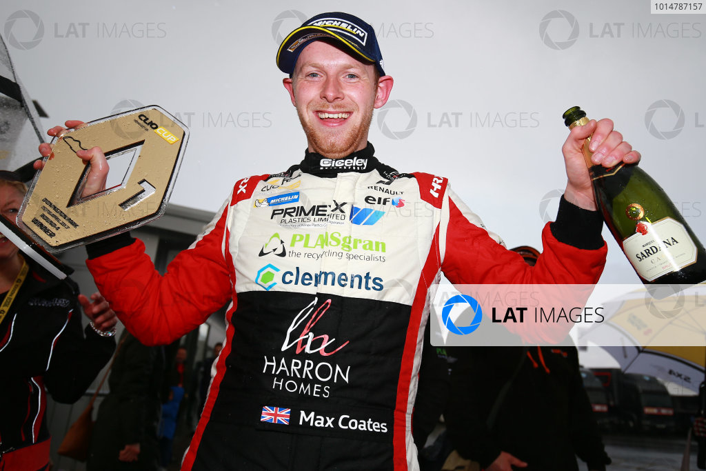2017 Renault Clio Cup, 15th-16th April 2017, Donington Park, Max Coates (GBR) Ciceley Motorsport Renault Clio Cup World Copyright. JEP/LAT Images
