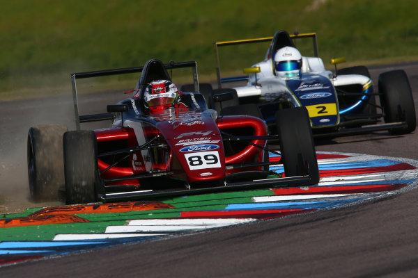 2017 British F4 Championship, Thruxton, 6th-7th May 2017,  Jamie Sharp (GBR) Sharp Motorsport British F4 World copyright. JEP/LAT Images