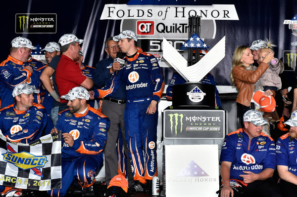 2017 Monster Energy NASCAR Cup Series - Fold of Honor QuikTrip 500 Atlanta Motor Speedway, Hampton, GA USA Sunday 5 March 2017 Brad Keselowski World Copyright: Rusty Jarrett/LAT Images ref: Digital Image 17ATL1rj_2856