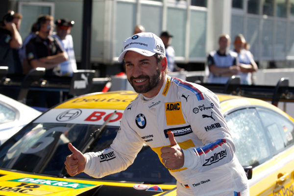 2017 DTM Round 9  Hockenheimring, Germany  Saturday 14 October 2017. Polesitter Timo Glock, BMW Team RMG, BMW M4 DTM  World Copyright: Alexander Trienitz/LAT Images ref: Digital Image 2017-DTM-HH2-AT3-1012