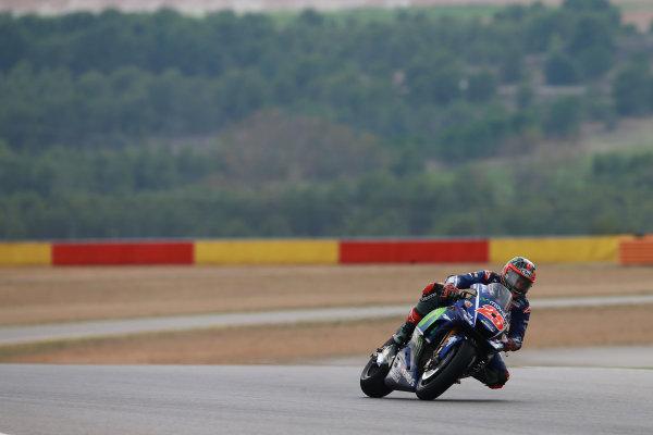 2017 MotoGP Championship - Round 14 Aragon, Spain. Friday 22 September 2017 Maverick Viñales, Yamaha Factory Racing World Copyright: Gold and Goose / LAT Images ref: Digital Image 693467