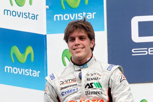 Circuit de Catalunya, Spain. 9th May 2010. Sunday Race.Luiz Razia (BRA, Rapax). Photo: Andrew Ferraro/GP2 Media Service.Ref: _Q0C3147 jpg