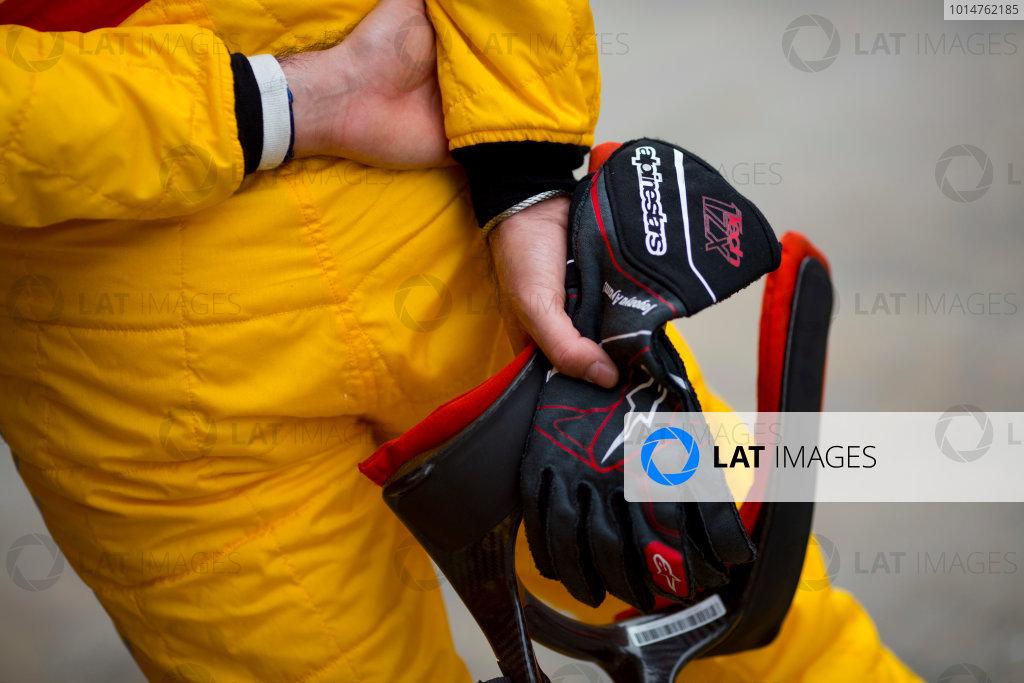 Circuit de Barcelona Catalunya, Barcelona, Spain. Monday 13 March 2017. Norman Nato (FRA, Pertamina Arden). Photo: Alastair Staley/FIA Formula 2 ref: Digital Image 580A9122