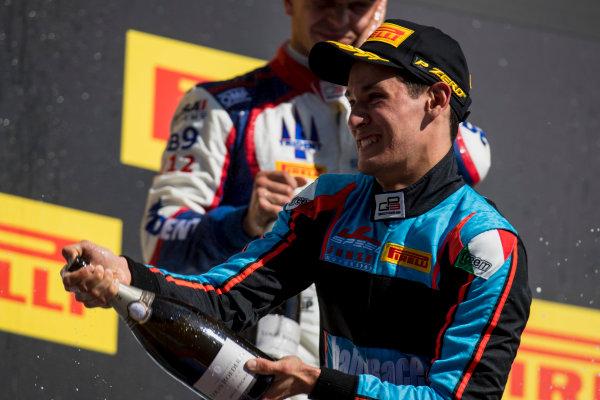 2017 GP3 Series Round 1.  Circuit de Catalunya, Barcelona, Spain. Sunday 14 May 2017. Alessio Lorandi (ITA, Jenzer Motorsport)  Photo: Zak Mauger/GP3 Series Media Service. ref: Digital Image _54I9555