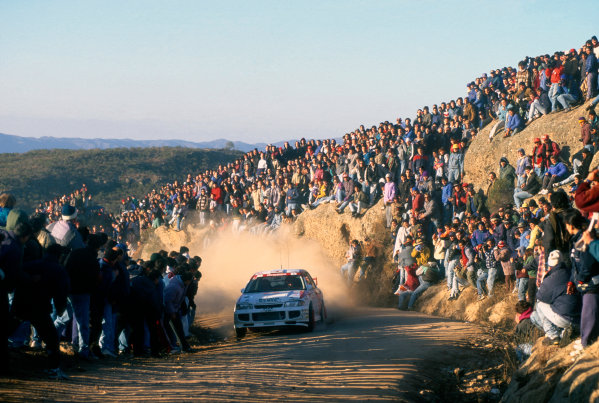 Acropolis Rally, Greece. 1-5 June 1996.