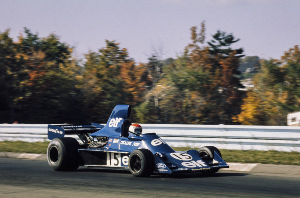 Michel Leclère, Tyrrell 007 Ford.