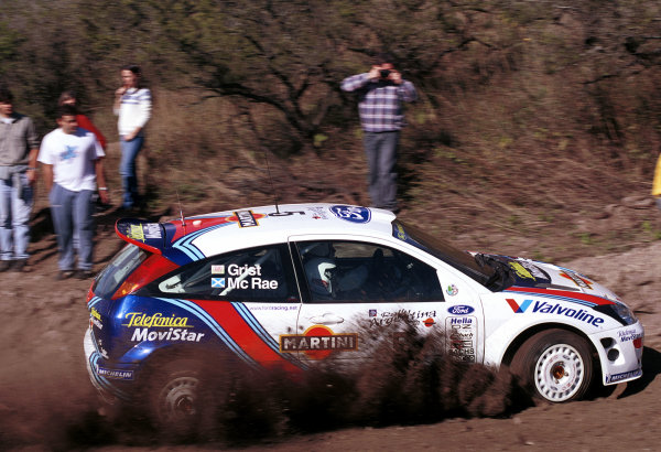 2000 Argentina Rally.Colin McRae (Ford Focus WRC).World - McKlein/LAT Photographic