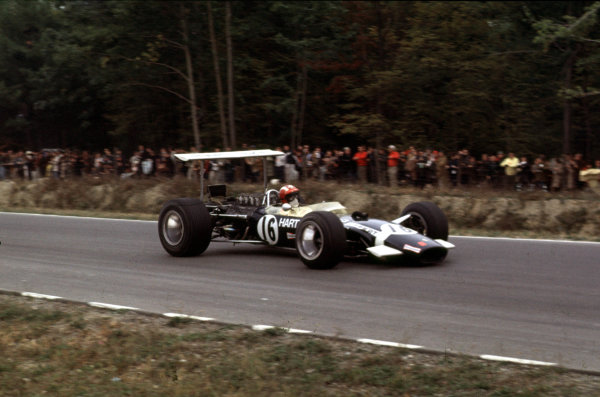 1968 United States Grand Prix.Watkins Glen, New York, USA.4-6 October 1968.Jo Siffert (Lotus 49B Ford) 5th position.Ref: 68 USA 45.World Copyright - LAT Photographic