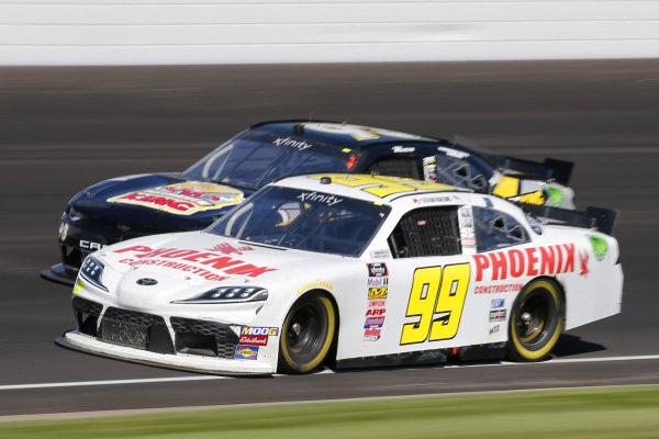 #99: Stefan Parsons, B.J. McLeod Motorsports, Toyota Supra Phoenix Construction and #93: Josh Bilicki, RSS Racing, Chevrolet Camaro RSS Racing Sci Aps