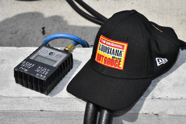 #8: Ryan Preece, JR Motorsports, Chevrolet Camaro Louisiana Hot Sauce tire crew hat