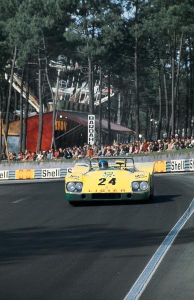 Guy Ligier (FRA) / Patrick Depailler (FRA) Ligier JS3 Ford.Le Mans 24 Hours, Le Mans, France, 12-13 June 1971.