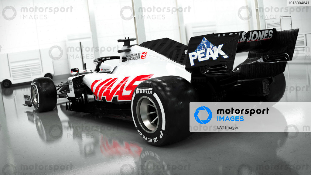 Haas VF-20 Livery launch