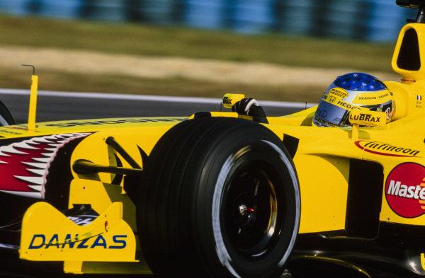 Jean Alesi, Jordan EJ11 Honda.
