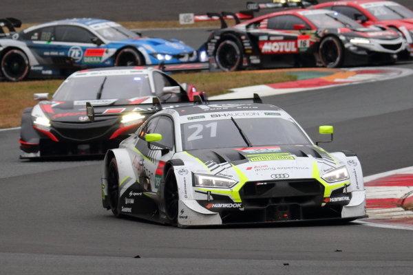 Super GT - DTM Dream Race. Benoît Tréluyer, Audi Sport Team WRT Hitotsuyama, Audi RS5 Turbo DTM, race two