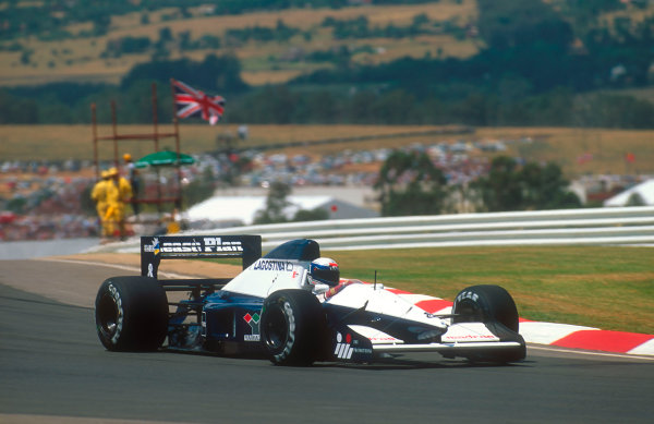 1992 South African Grand Prix.Kyalami, South Africa.28/2-1/3 1992.Giovanna Amati (Brabham BT60B Judd). She failed to qualify at her first Grand Prix.Ref-92 SA 04.World Copyright - LAT Photographic