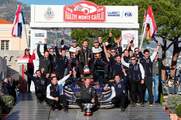 2018 FIA World Rally Championship, Round 01, Rallye Monte-Carlo 2018, January 25-28, 2018.  Worldwide Copyright: McKlein/LAT
