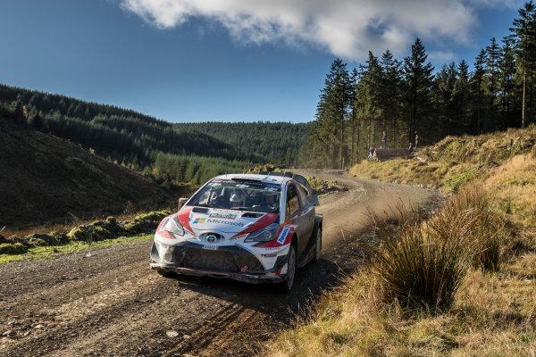 2017 FIA World Rally Championship, Round 12, Wales Rally GB, 26-29 October, 2017, Jari-Matti Latvala, Toyota, action, Worldwide Copyright: LAT/McKlein