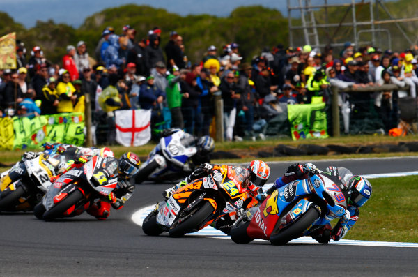 2017 Moto2 Championship - Round 16 Phillip Island, Australia. Sunday 22 October 2017 Alex Marquez, Marc VDS World Copyright: Gold and Goose / LAT Images ref: Digital Image 24769