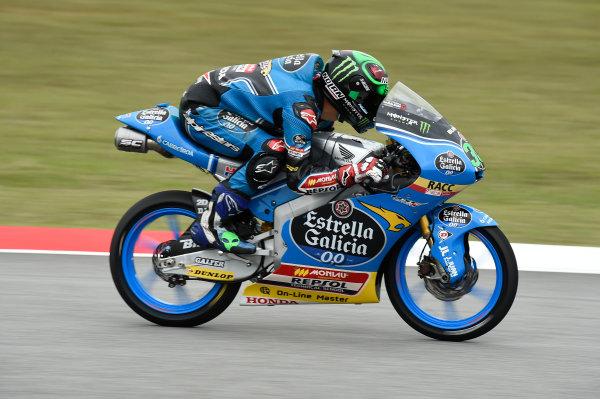 2017 Moto3 Championship - Round 17 Sepang, Malaysia. Friday 27 October 2017 Enea Bastianini, Estrella Galicia 0,0 World Copyright: Gold and Goose / LAT Images ref: Digital Image 25060