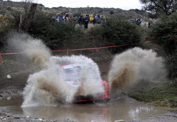 2005 FIA World Rally Champs. Round nine, Rally Argentina 14th - 17th July 2005 Harri Rovanpera, Mitsubishi, action World Copyright: McKlein/LAT