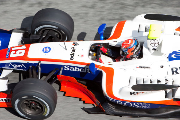Jerez, Spain. Thursday 8th October. Filip Salaquarda (CZE, Trident Racing). Action.  World Copyright: Alastair Staley/ GP2 Series Media Service.Ref: _O9T7321 jpg