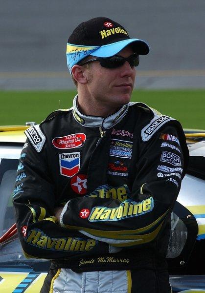 Jamie McMurray (USA) Havoline Chip Ganassi Dodge.NASCAR Winston Cup Series, Daytona 500 Practice, Daytona, Florida, USA, 11 February 2003.DIGITAL IMAGE