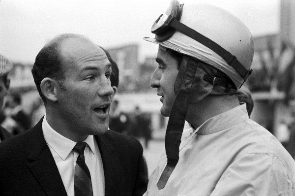 Stirling Moss and Lorenzo Bandini.
