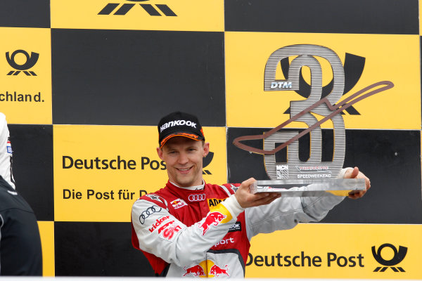 2014 DTM Championship Round 4 - Norisring, Germany 27th - 29th June 2014  Podium, 3rd Mattias Ekstroem (SWE), Audi Sport Team Abt Sportsline, Audi A5 DTM World Copyright: XPB Images / LAT Photographic  ref: Digital Image 3190657_HiRes