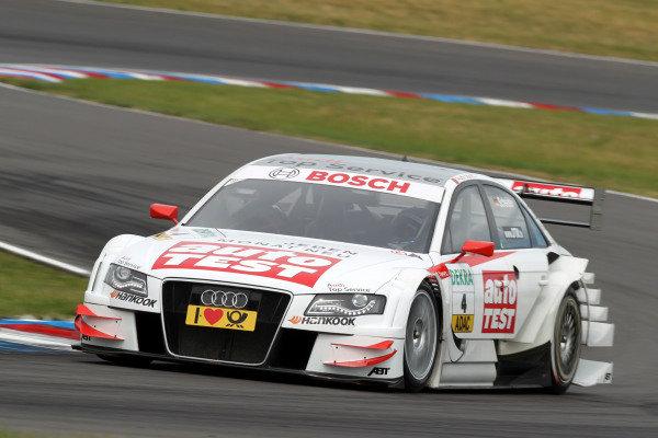 Timo Scheider (GER), Audi Sport Team Abt.DTM, Rd4, Eurospeedway Lausitz, Germany, 18-19 June 2011.