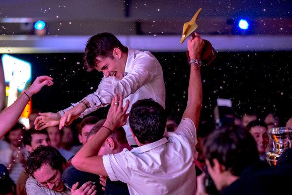 2016 GP2/3 Awards Evening. Yas Marina Circuit, Abu Dhabi, United Arab Emirates. Sunday 27 November 2016. Charles Leclerc (FRA, ART Grand Prix)  Photo: Zak Mauger/GP2 Series Media Service/GP3 Series Media Service. ref: Digital Image _X0W9876