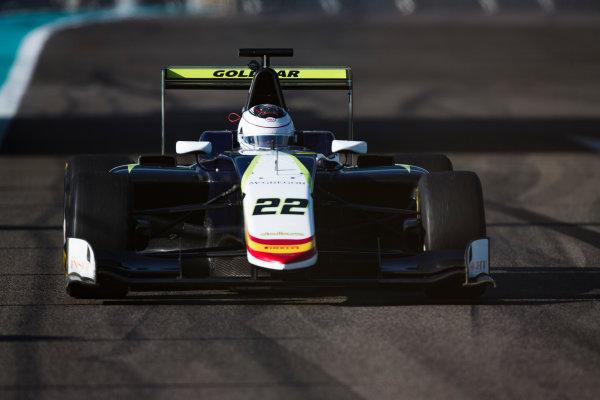 2016 GP3 Series Test 5. Yas Marina Circuit, Abu Dhabi, United Arab Emirates. Wednesday 30 November 2016. Julian Falchero (FRA, Campos Racing)  Photo: Sam Bloxham/GP3 Series Media Service. ref: Digital Image _SLA1390