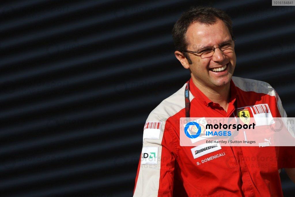 Stefano Domenicali (ITA) Ferrari General Director. Formula One World Championship, Rd 11, European Grand Prix, Qualifying Day, Valencia Spain, Saturday 22 August 2009.