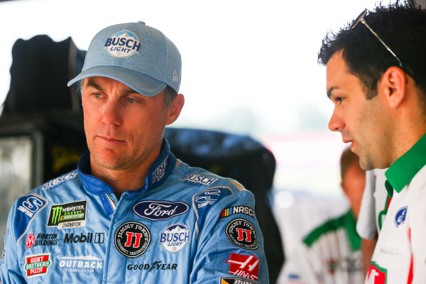 NASCAR XFINITY Series Alsco 300 Kentucky Speedway, Sparta, KY USA Friday 7 July 2017 Kevin Harvick, Hunt Brothers Pizza Ford Mustang World Copyright: Barry Cantrell LAT Images