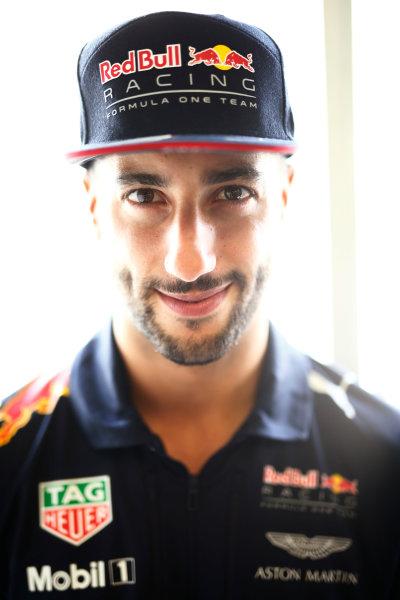 Baku City Circuit, Baku, Azerbaijan. Thursday 22 June 2017. Daniel Ricciardo, Red Bull Racing. World Copyright: Andy Hone/LAT Images ref: Digital Image _ONZ5836